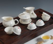 Gu Ci Gongfu - Bone China Tea Set