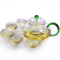 Ming Shang De - Glasses Tea Set